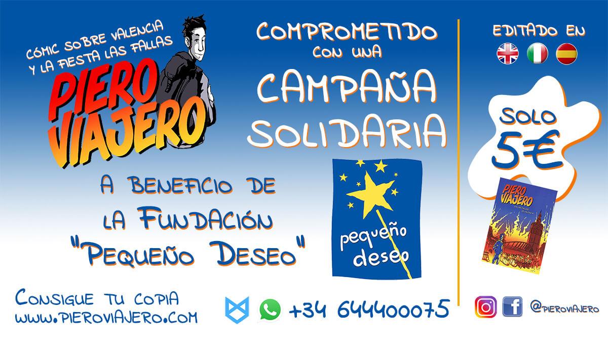 Piero Viajero - Fundación Pequeño Deseo