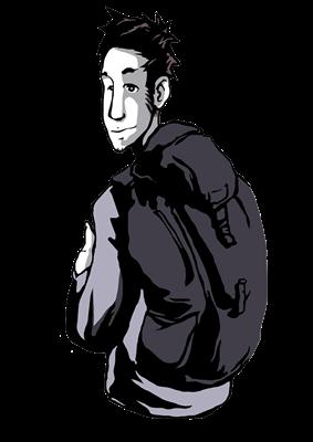 Piero Viajero - Protagonista cómic