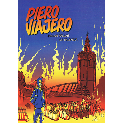 Portada Cómic Piero Viajero