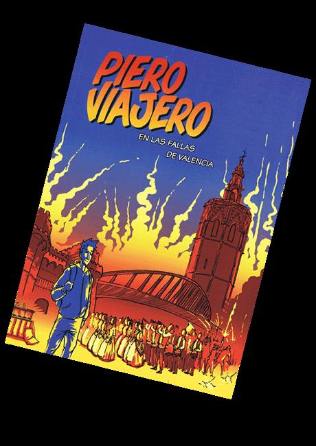 Portada Piero viajero en Las Fallas de Valencia